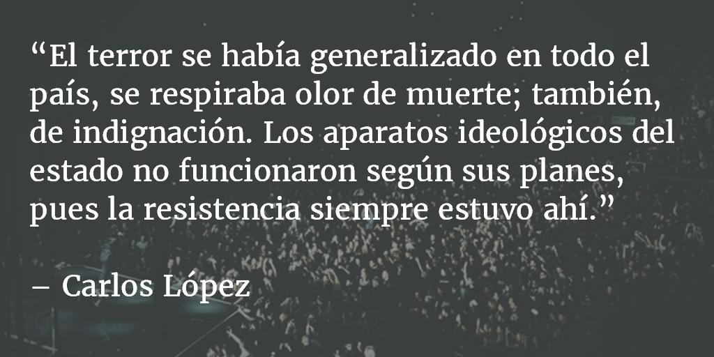 Guatemala, 31 de enero de 1980. Carlos López.