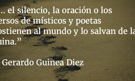 Viejas palabras. Gerardo Guinea Diez.