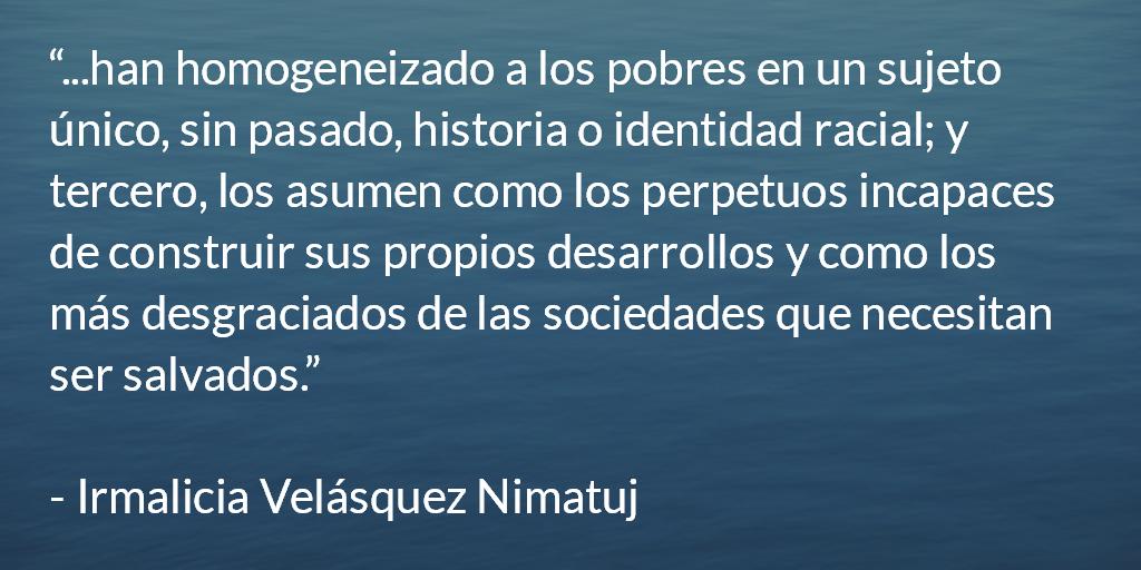 Irmalicia Velasquez Nimatuj