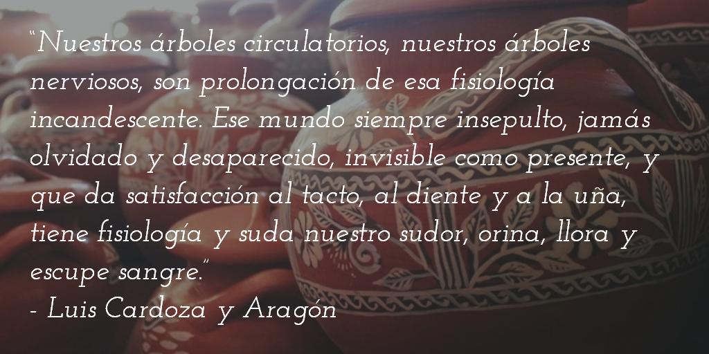 Luis Cardoza Aragon