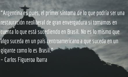 Mauricio Macri en acción. Carlos Figueroa Ibarra.