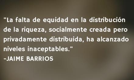 Impuestos y desarrollo. Jaime Barrios.