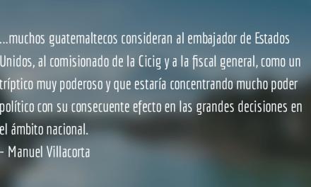 ¿Quién gobierna en Guatemala?  Manuel Villacorta