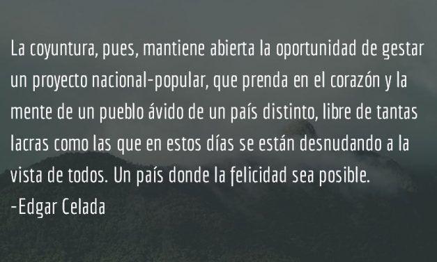 La crisis y la podemización. Edgar Celada.