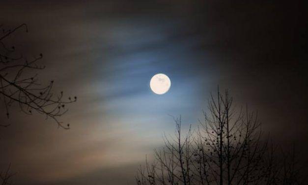 Solsticio de verano con luna llena I. Julio C. Palencia.