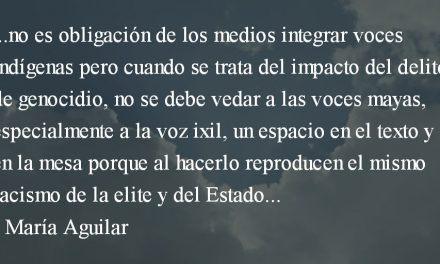 Sujetos indígenas y sus representaciones. María Aguilar.