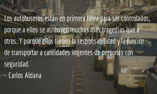 ¡Buses: a no más de 90! Carlos Aldana