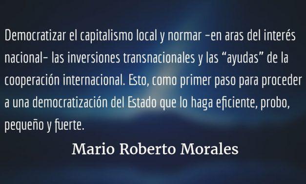 El interlocutor alternativo. Mario Roberto Morales.
