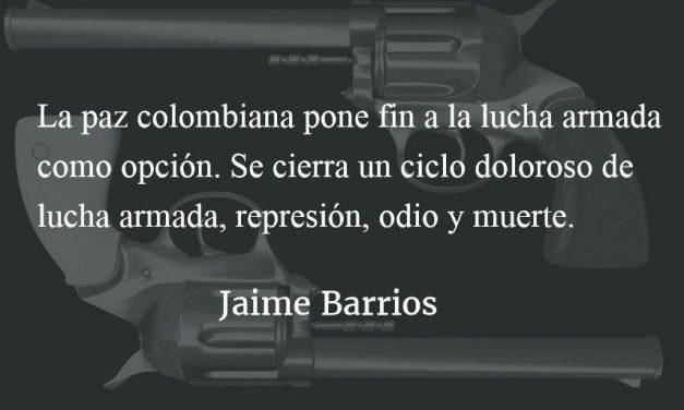 Paz en Colombia. Jaime Barrios.