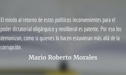 """Orden """"de arriba"""" y gente """"de abajo"""". Mario Roberto Morales."""