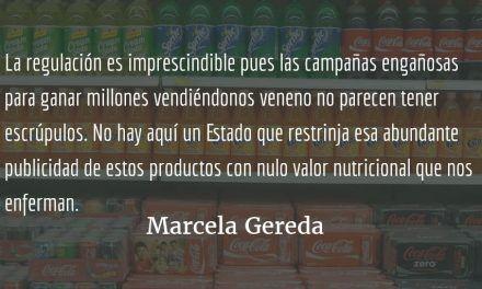 Bebidas gaseosas y engañosas campañas publicitarias. Marcela Gereda.