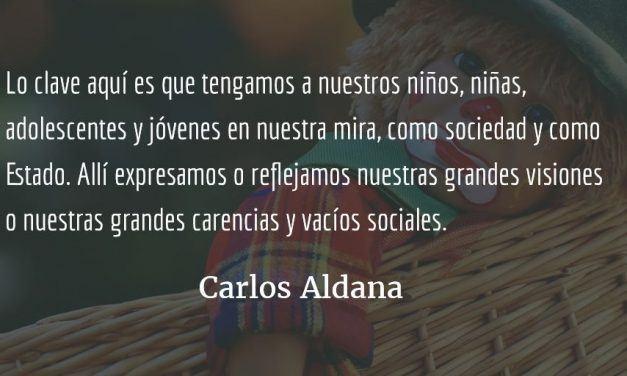 Los niños prioritarios. Carlos Aldana.