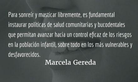 Primer centro educativo libre de caries dental. Marcela Gereda.