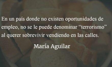 La ciudad del futuro vive y sobrevive desde la informalidad. María Aguilar.