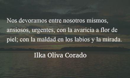 Poco nos queda de humanidad. Ilka Oliva Corado.