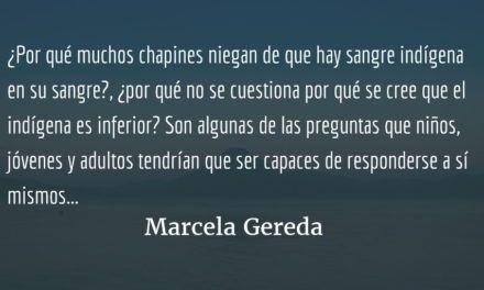 """""""Se llena de shumos"""". Marcela Gereda."""