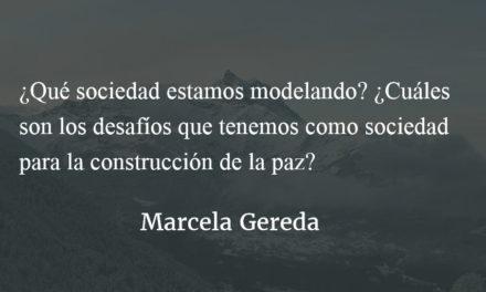 La paz, un bien común de la humanidad. Marcela Gereda.