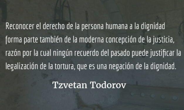 Lo verdadero y lo justo. Tzvetan Todorov.