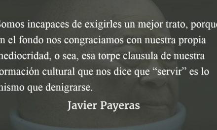 El huevón. Javier Payeras.
