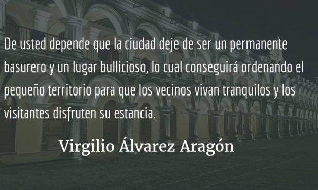 Carta abierta a la alcaldesa de Antigua. Virgilio Álvarez Aragón.