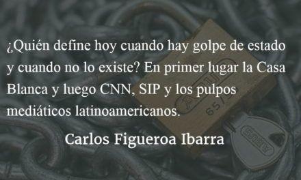 No hubo golpe de estado. Carlos Figueroa Ibarra.