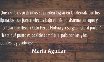 Reformas. María Aguilar.