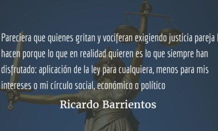 El MP, la Cicig y la imparcialidad de la justicia. Ricardo Barrientos.