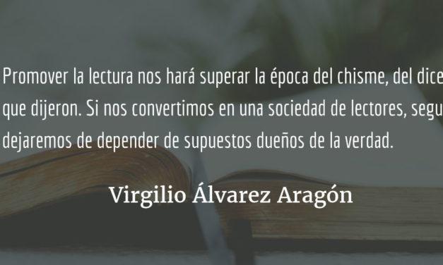 La aventura de leer. Virgilio Álvarez Aragón.
