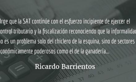 Bienvenido el debate sobre desigualdad y tributación. Ricardo Barrientos.