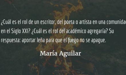 Estados de la materia. María Aguilar.