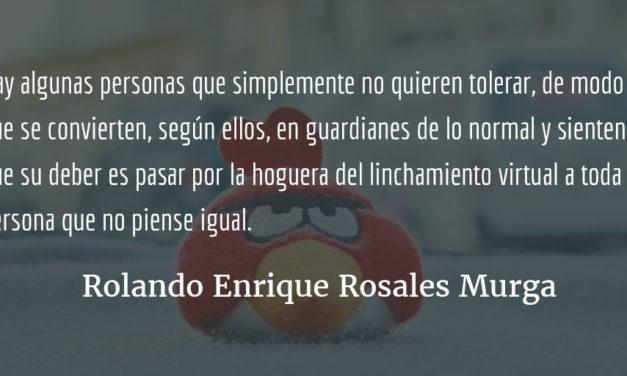 Cultura de denuncia. Rolando Enrique Rosales Murga.