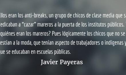 Anti-breaks. Javier Payeras.