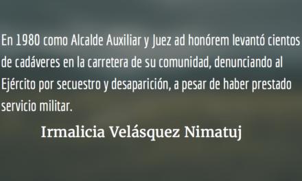 Ernesto Mateo Tiu Tumax. Irmalicia Velásquez Nimatuj.