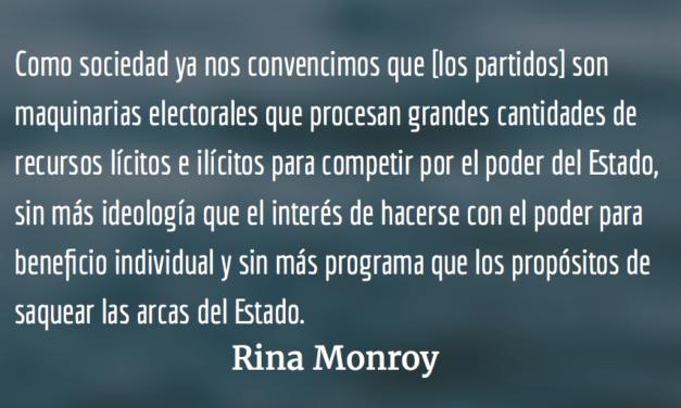 Aproximaciones para un balance necesario. Rina Monroy.