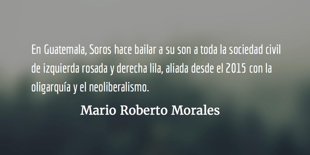 El fascismo rosa. Mario Roberto Morales.