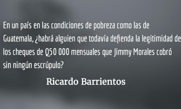 Jimmy, cadáver político. Ricardo Barrientos.