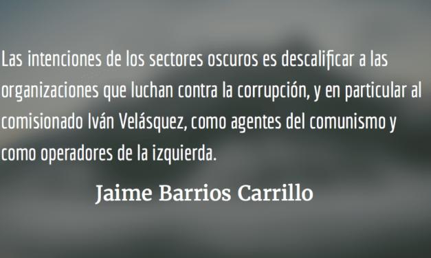 Jimmy está en pie de guerra. Jaime Barrios Carrillo.