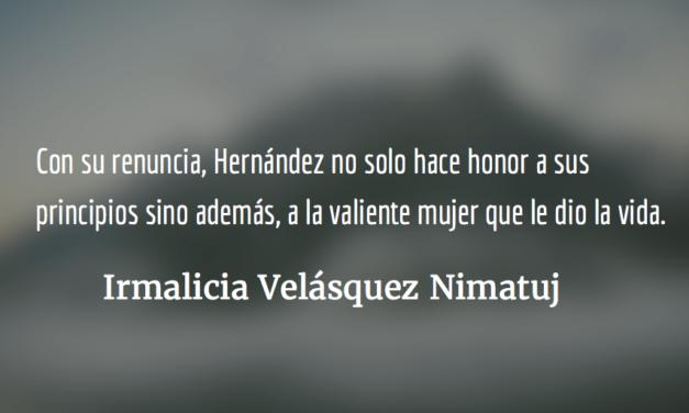 La integridad de Lucrecia Hernández Mack. Irmalicia Velásquez Nimatuj.