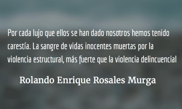 Manifestar sí, alardear no. Rolando Enrique Rosales Murga.