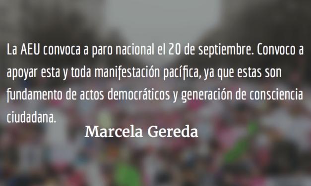 Hermanarnos. Marcela Gereda.