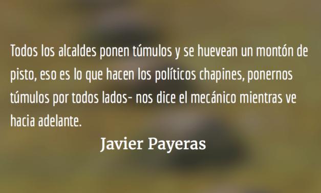 Túmulos. Javier Payeras.