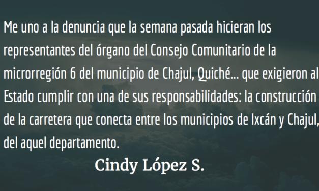 Una construcción de nunca acabar… Cindy López S.
