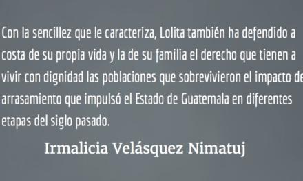 Guatemala finalista para el Premio Sájarov. Irmalicia Velásquez Nimatuj.