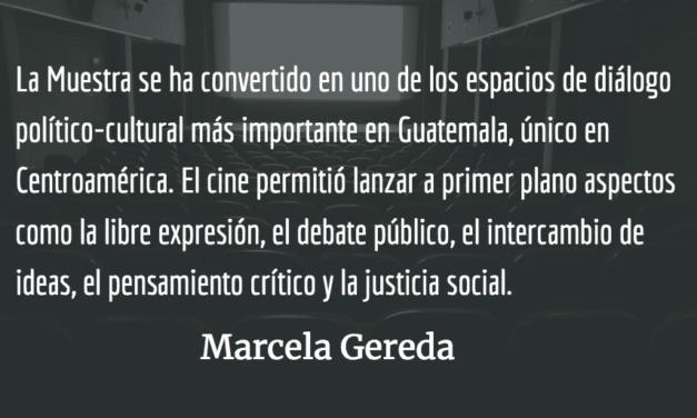 IX muestra de cine Memoria, Verdad y Justicia. Marcela Gereda.