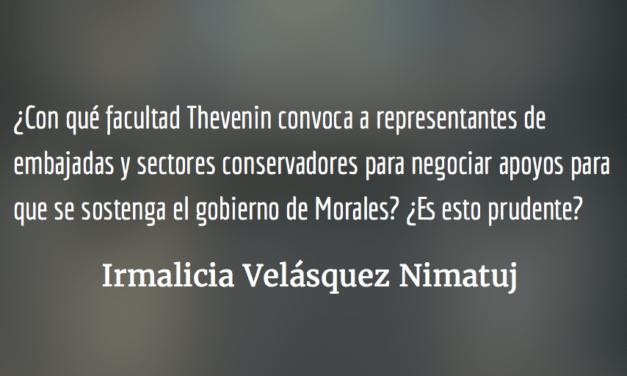 ¿Cuál es el rol del Nuncio Apostólico Nicolás Thevenin? Irmalicia Velásquez Nimatuj