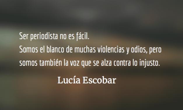 Entre lo urgente y lo importante. Lucía Escobar.