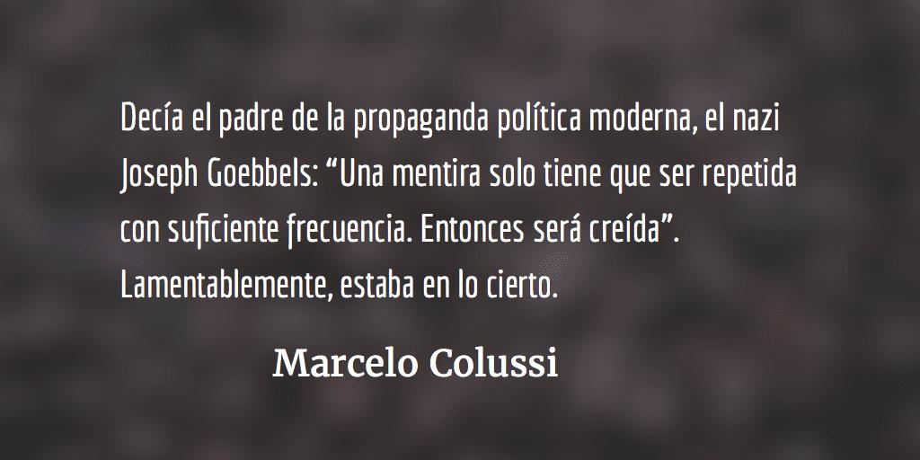 El sueño de la razón produce monstruos. Marcelo Colussi.