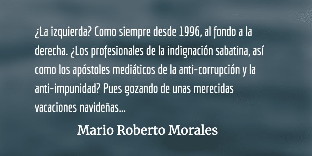 Crónica de viaje y tarjeta navideña. Mario Roberto Morales.