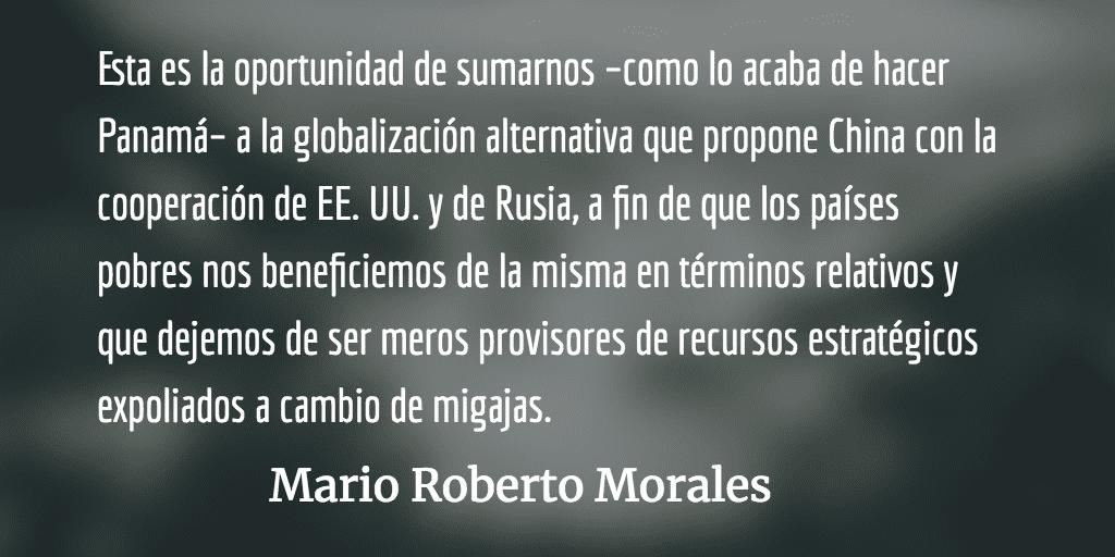 Un nuevo instrumento político. Mario Roberto Morales.