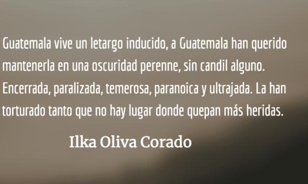 Guatemala, una infancia que correrá libre entre los zacatales. Ilka Oliva Corado.